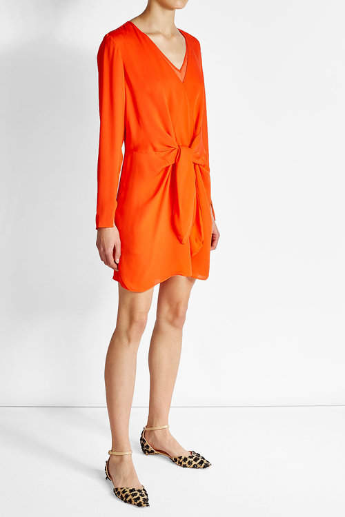 3.1 Phillip Lim 3.1 Phillip Lim Silk Dress with Knot Detail