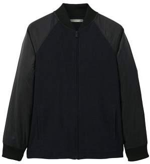 MANGO Combined cotton bomber jacket