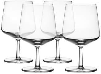 Iittala Essence Beer Glasses, Set of 4