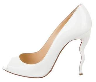Christian Louboutin Jolly Patent Leather Pumps White Jolly Patent Leather Pumps