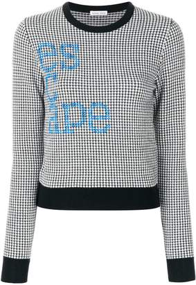 Tomas Maier escape sweater