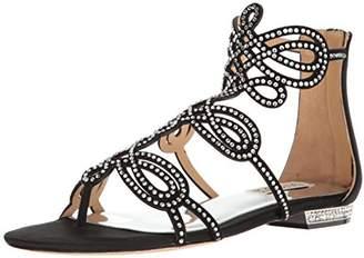 Badgley Mischka Women's Tempe Flat Sandal