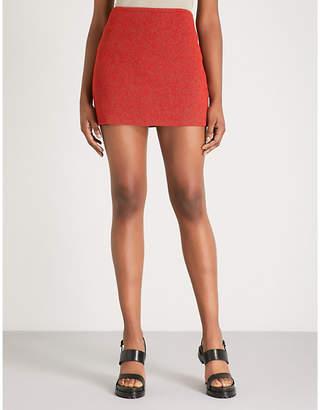 Yeezy Season 6 woven mini skirt