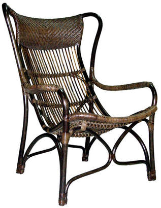 Natural Rustic Carver Armchair