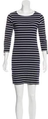 Melissa Odabash Long-Sleeve Mini Dress