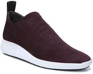 Via Spiga Marlow Stretch-Suede Sock Sneakers