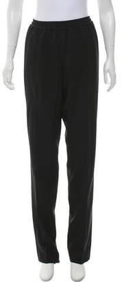 Calvin Klein Collection Mid-Rise Straight-Leg Pants