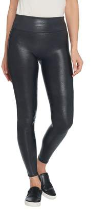 Spanx Faux Leather Pebble Grey Leggings