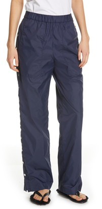 Tibi Side Snap Nylon Track Pants