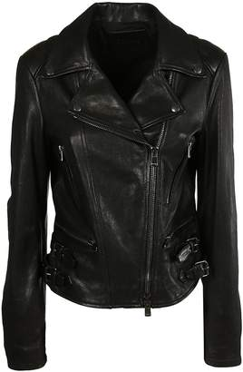 Drome Zip Leather Jacket