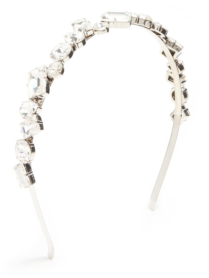 Miu MiuMIU MIU Crystal-embellished headband