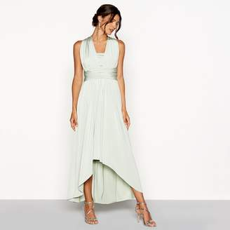 Debut Pale Green Multiway High Low Dress