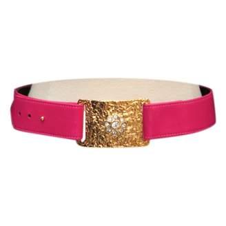 Christian Lacroix Leather Belt