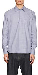Barena Venezia VENEZIA MEN'S SLUB-EFFECT COTTON LONG-SLEEVE SHIRT