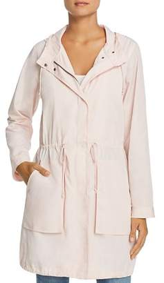 Kenneth Cole Hooded Drawstring Anorak