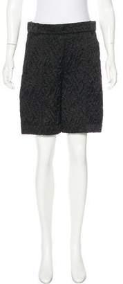 Louis Vuitton High-Rise Silk Shorts