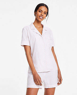 Ann Taylor Striped Pajama Set