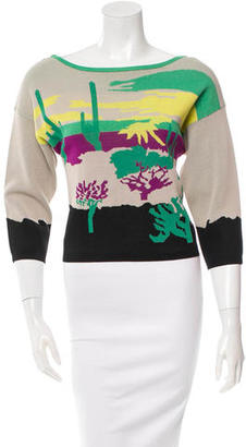 Tracy Reese Patterned Knit Sweater w/ Tags $65 thestylecure.com