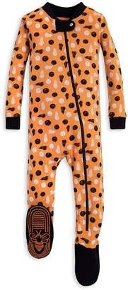 Burt's Bees Pumpkins Organic Baby Zip Up Footed Halloween Pajamas