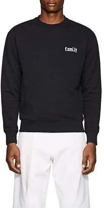 "Ami Alexandre Mattiussi Men's ""F.AMI. LY"" Cotton French Terry Sweatshirt"