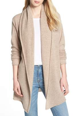 Halogen Shawl Collar Cashmere Cardigan