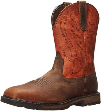 Ariat Men's Groundbreaker Wide Square Steel Toe Work Boot