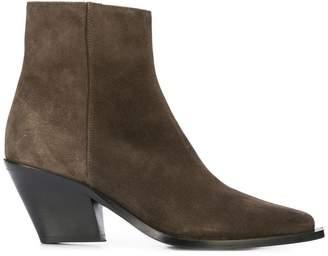 Barbara Bui chunky heel boots