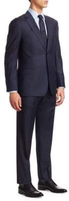 Emporio Armani Tonal Stripe Wool Suit