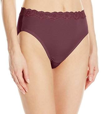 Olga Women's Without a Stitch Lace Hi-Cut Brief Panty $10.50 thestylecure.com