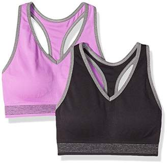 Spalding Women's 2 Pack Sports Bra