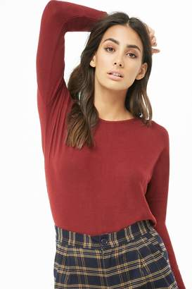 Forever 21 Brushed Long Sleeve Top