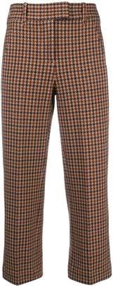 1901 Circolo cropped plaid trousers