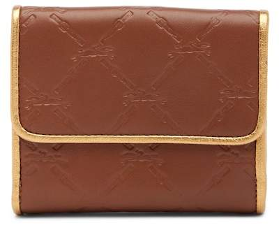 Longchamp LM Cuir Deluxe Leather French Purse - OAK BROWN - STYLE