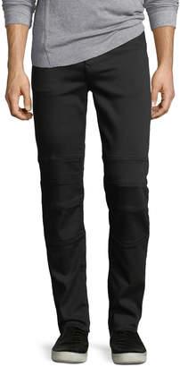 Karl Lagerfeld Paris Motorcycle Denim Pants