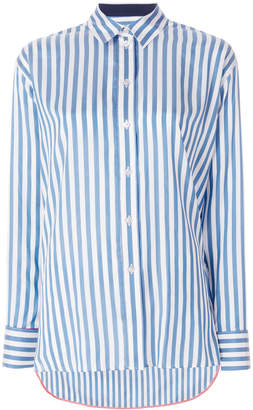 Paul Smith striped longline shirt