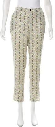 Rag & Bone Silk Mid-Rise Pants