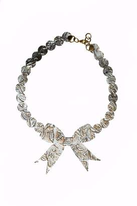 Bliss Leather Tie Necklace