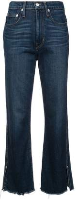 Proenza Schouler PSWL High Waisted Cropped Jeans