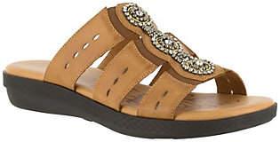 Easy Street Shoes Slide Sandals - Nori