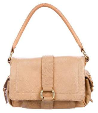 Celine Grained Leather Shoulder Bag