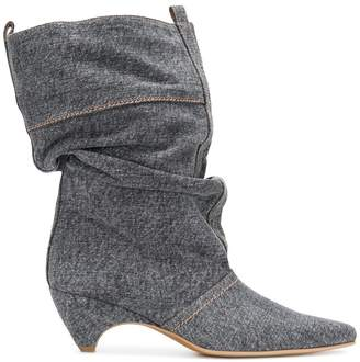 Stella McCartney Slouchy pointed boots