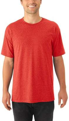 Jerzees Mens Tri-Blend Crew T-Shirt available up to 3XL, 2 Pack