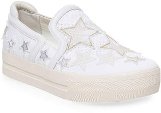 Ash Jeday Bis Star Leather Sneaker