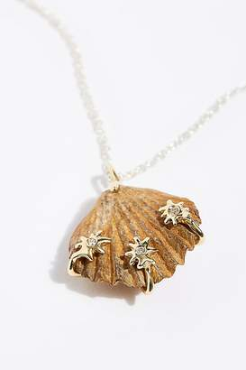 Morgan Patricia 14k Scallop Shell Necklace