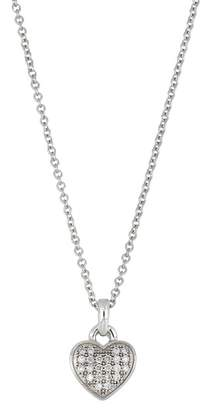 Bony Levy 18K White Gold Diamond Heart Pendant Necklace - 0.07 ctw
