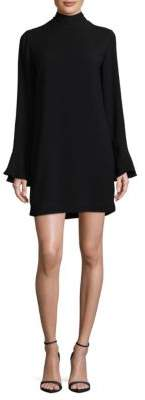 IRO High Neck Bell Sleeve Dress