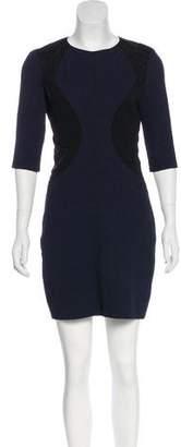 Nina Ricci Long Sleeve Mini Dress.