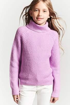Forever 21 Girls Turtleneck Sweater (Kids)