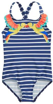 Boden Mini Tropical Birds One-Piece Swimsuit