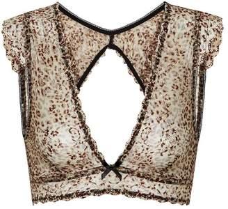 62b4b002e0 ... Sam Edelman Lace Cap Sleeve Bralette